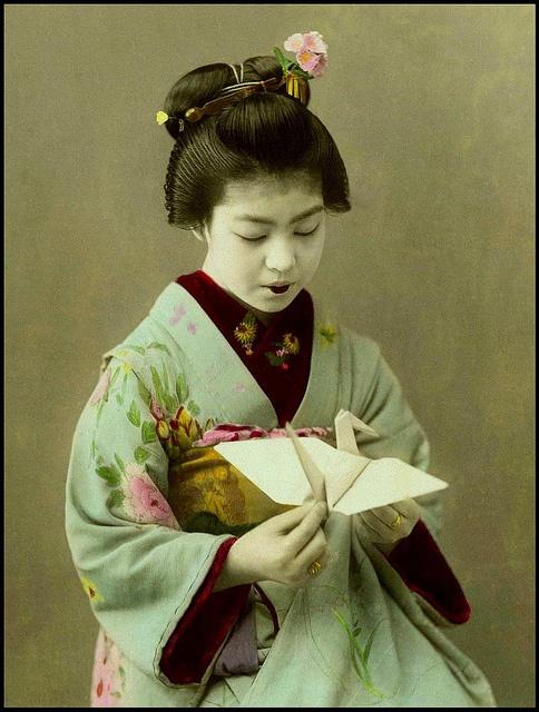 l'origami histoire